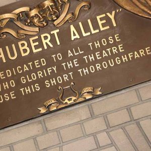 Shubert Alley-Broadway