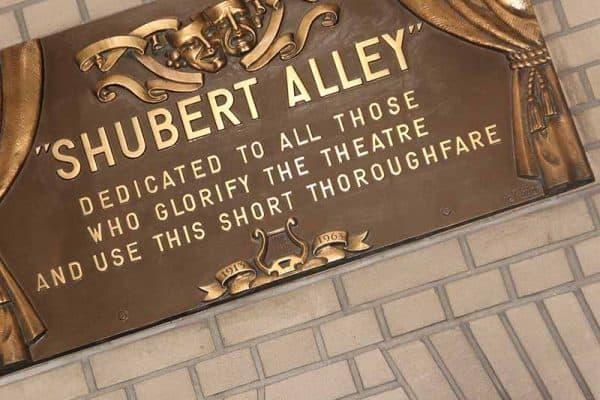 Shubert Alley-Broadway